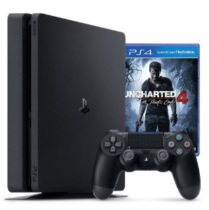 PS4 - Playstation 4 Slim 1TB + Uncharted 4