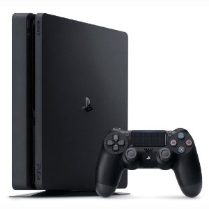 PS4 - Console Sony PlayStation 4 - 500 GB Preto 2215A Slim