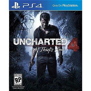 Jogo Uncharted 4 em Português PS4