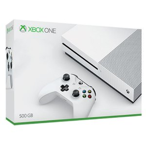 Console Xbox One S White 500GB Slim Branco