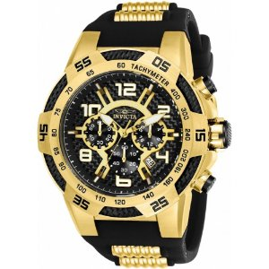 30cf9fd319e Relógio Invicta Venom 23895 Masculino 54 MM Dourado Com Preto ...