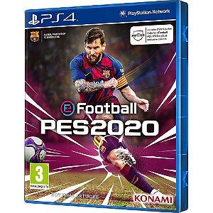 Jogo Efootball Pes 2020 Em Português PS4