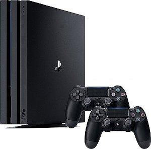 Console Sony PlayStation 4 Pro 1TB 7215B com 2 Controles e 2 Jogos