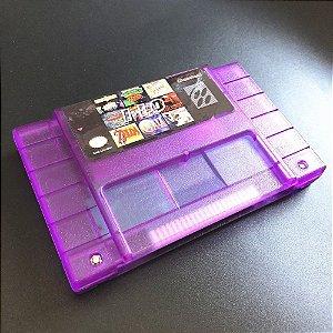 Cartucho Super Nintendo Super 110 Jogos em 1 com Bateria para Salvar!