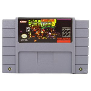 Donkey Kong Country 2 Diddy's Kong Quest Cartucho Super Nintendo com Bateria