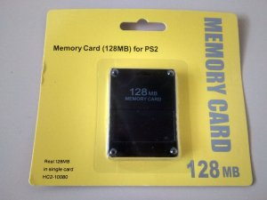 Memory Card 128 Mb Playstation 2 Magic Gate