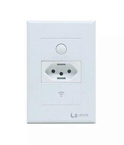 Tomada Inteligente Wi- Fi Para Caixa 4X2