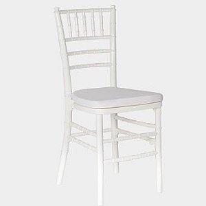 Cadeira Tiffany branca - resina