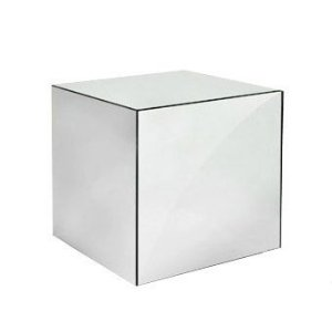 Mesa Lateral Espelho - Cubo