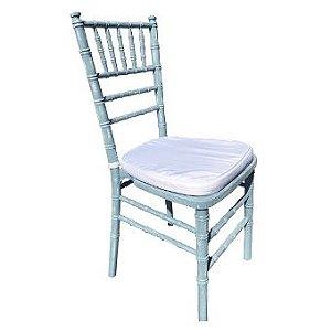 Cadeira Tiffany Maresias - Pátina Azul claro e branco
