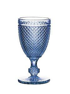 Taça Bico de Jaca Azul