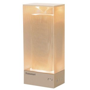 Caixa de som Tronsmart Beam 15W Bluetooth 4.1com luz Led