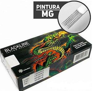 AGULHA BLACKLINE PINTURA - CAIXA COM 50 UNIDADES