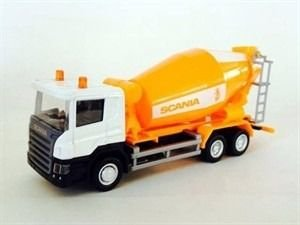 CALIFORNIA JUNIOR TRUCK CAMINHÃO BETONEIRA SCANIA P-SERIES 1/64