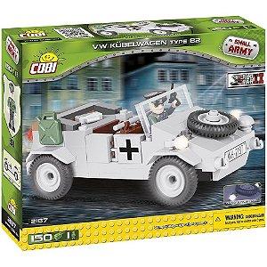 VEICULO MILITAR VW TYPE 82 BLOCOS P/ MONTAR 150 PEÇAS