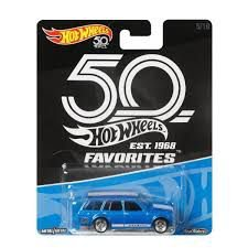 VEICULOS HOT WHEELS 50 ANOS FAVORITOS 71'DATSUN BLUEBIRD 510 WAGON - FLF 36
