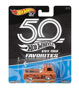 VEICULOS HOT WHEELS 50 ANOS FAVORITOS 60'S FORD ECONOLINE PICKUP - FLR40