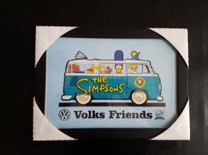 QUADRO KOMBI SIMPSONS A4 (210 x 297 mm)