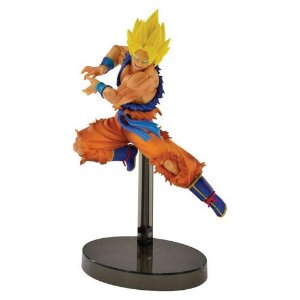 FIGURE DRAGON BALL SUPER SAIYAN SON GOKU Z BATTLE