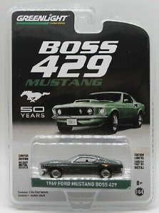 1969 FORD MUSTANG BOSS 429 50 YEARS 1/64