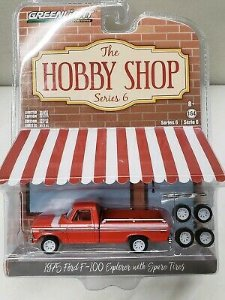 1975 FORD F-100 EXPLORER WITH SPARE TIRES 1/64