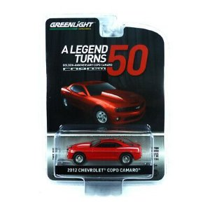 2012 CHEVROLET COPO CAMARO 50 YEARS 1/64