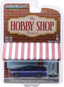 2013 DODGE CHARGER SUPER BEE WITH WOMAN IN DRESS 1/64