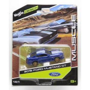 2015 FORD MUSTANG GT DESIGN 1/64