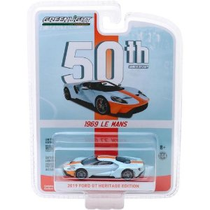 2019 FORD GT HERITAGE EDITION 50TH 1/64