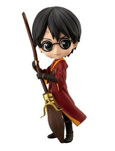 ACTION FIGURE HARRY POTTER QPOSKET - HARRY POTTER QUADRIBOL