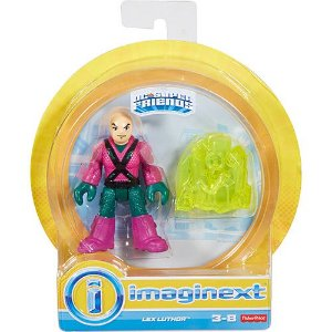 FIGURE IMAGINEXT DC LIGA DA JUSTIÇA LEX LUTHOR SUPER FRIENDS