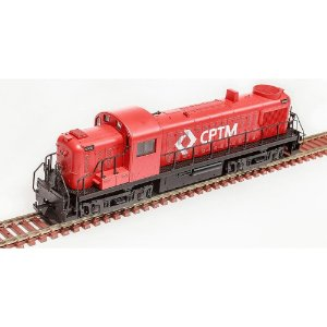 Locomotiva Rs-3 Cptm 3085 Ho 1/87