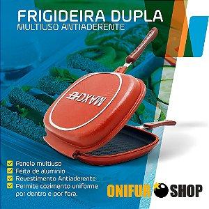 Panela Frigideira Dupla MaxChef Antiaderente Multiuso Premium