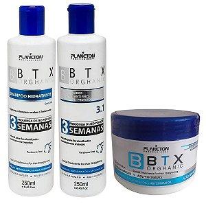 Kit Orghanic Plancton Shampoo, Condicionador E Botox 300gr