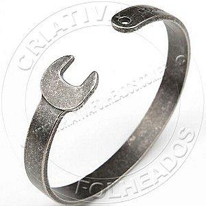 Bracelete Pulseira Chave de Boca Inox