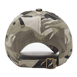 Boné Chapéu Camuflado Usa Estados Unidos Americano Bandeira Army