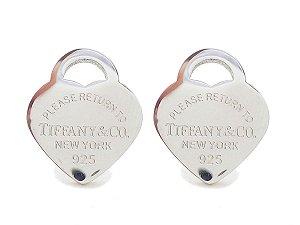 Brinco Pequeno Tif Coração New York 925 ou 750