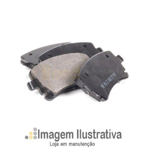 Pastilha De Freio Dianteira Citroen C2 C3 03/...