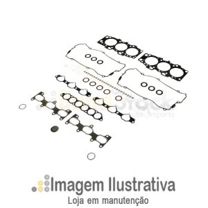 Par De Juntas Do Cabeçote Hyundai Santa Fé 2.7 V6 24v G6ea