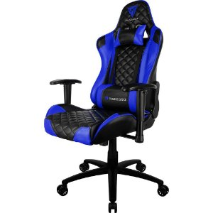 Cadeira Gamer THUNDERX3 TGC12 Preta/Azul