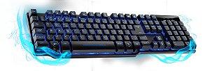 TECL USB GAMER SEMI-MEC LED WARRIOR TC196 (GAR. 12M)
