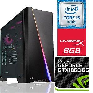 PowerPC Gamer Intel - I5 7400 - GPU GTX 1060 6GB - 8GB DDR4 -HD 1TB -