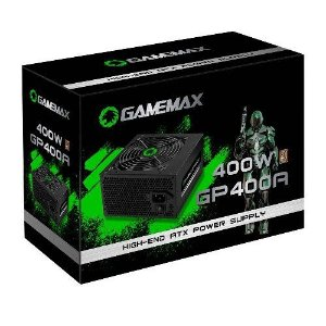 Fonte ATX 400W 80Plus Bronze Gamemax GP400A