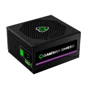 Fonte ATX 550W 80Plus Bronze PFC Ativo Gamemax GM550
