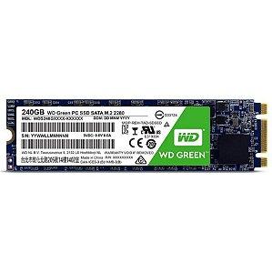 SSD WD 240gb Green M.2 2280 Sata3 Wds240g2g0b