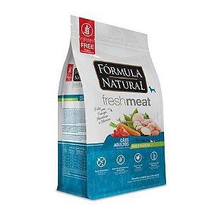 Ração Fórmula Natural Fresh Meat Adultos Mini e Pequeno Frango 7kg