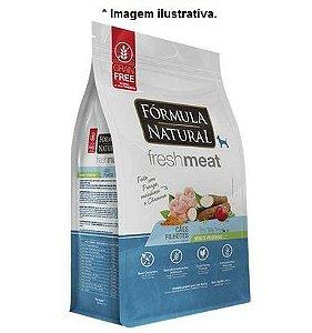 Ração Fórmula Natural Fresh Meat Cães Filhotes Frango Mandioca e Cúrcuma 12kg