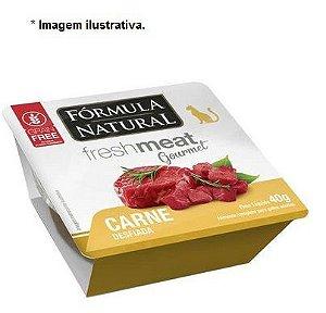 Ração Úmida Fórmula Natural Fresh Meat Gourmet Carne Desfiada para Gatos Adultos 40gr