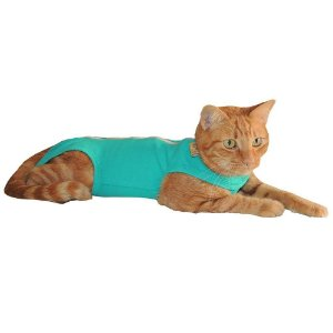Roupa Pós-Cirúrgica Gaby Pet com Ziper para Gato tamanho M