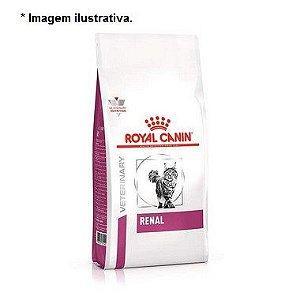 Ração Royal Canin Feline Veterinary Diet Renal para Gatos com Doenças Renais 4kg